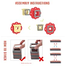 bloques de construcción magnéticos para niños