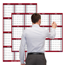 2021 wall calendar dry erase large swiftglimpse laminated wall planner planning