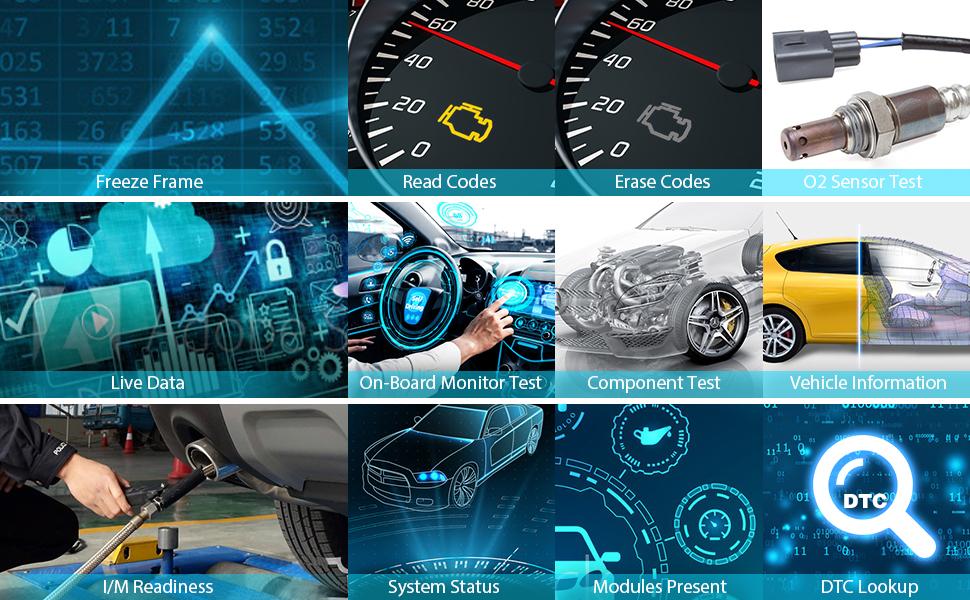 OBDII Check Engine Light Code Reader