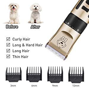 Dog Clippers hair clipper set