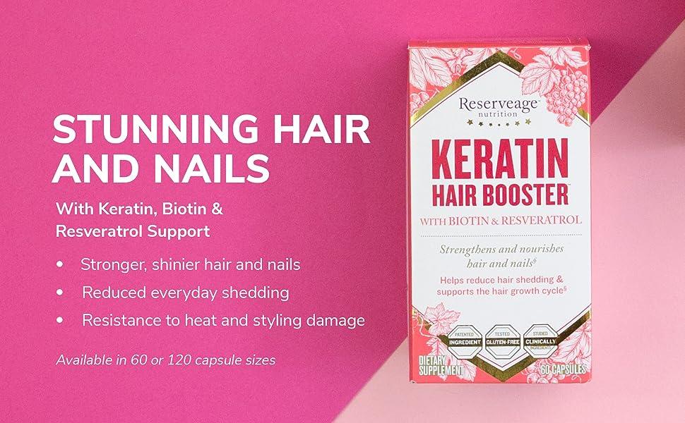 keratin hair booster