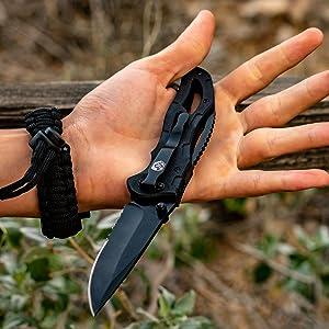 pocket knife folding knife edc gear survival gear tactical knife hunting camping hiking fishing