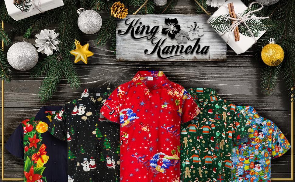 King Kameha Christmas X-Mas Season Winter Hats Presents Baubles