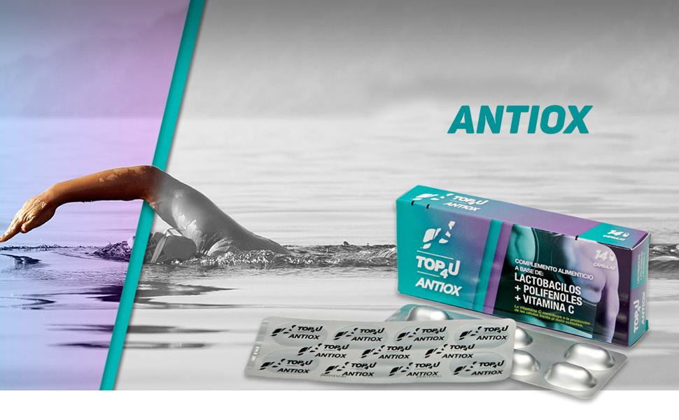 TOP4U ANTIOX. Probiótico para deportistas con función ...