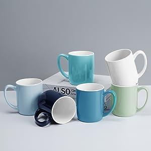 6 Coffee Mugs