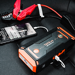 portable jump starter for car, battery booster, car battery charger jump starter
