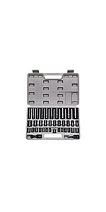"""Complete 3/8"""" and 1/2"""" Drive Impact Socket Set"""