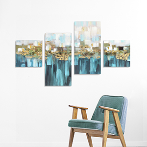 abstract painting unframed prints