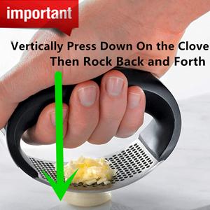 Garlic press Rocker Clove Press Mincing tool