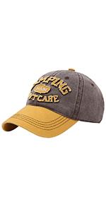 Vintage Baseball Cap Washed Cotton Dad Hat Women Men Unconstructed Embroidered Trucker Hat