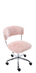 pink task chair