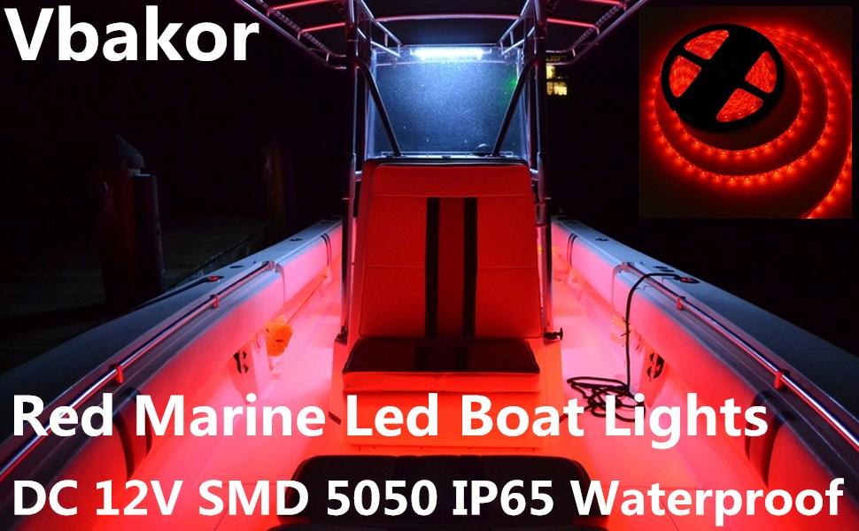 red boat lights