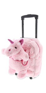 Plush backpack