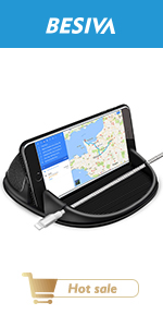 One-handed Operation Car Phone Mount