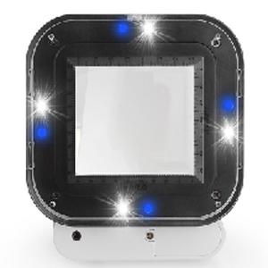 4 LED Lights 4 UV lights