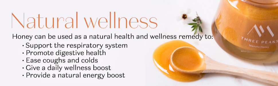 three peaks new zealand manuka honey UMF certified pure organic health 20+