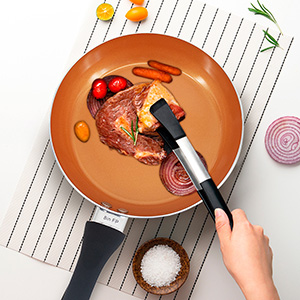 EASY TO CLEAN NONSTICK COOKWARE
