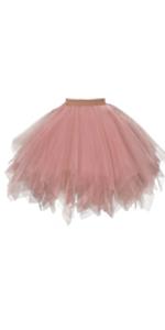 1950s Vintage Ballet Bubble Skirt Tulle Petticoat Puffy Tutu