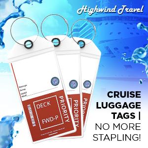 Cruise Luggage Tags