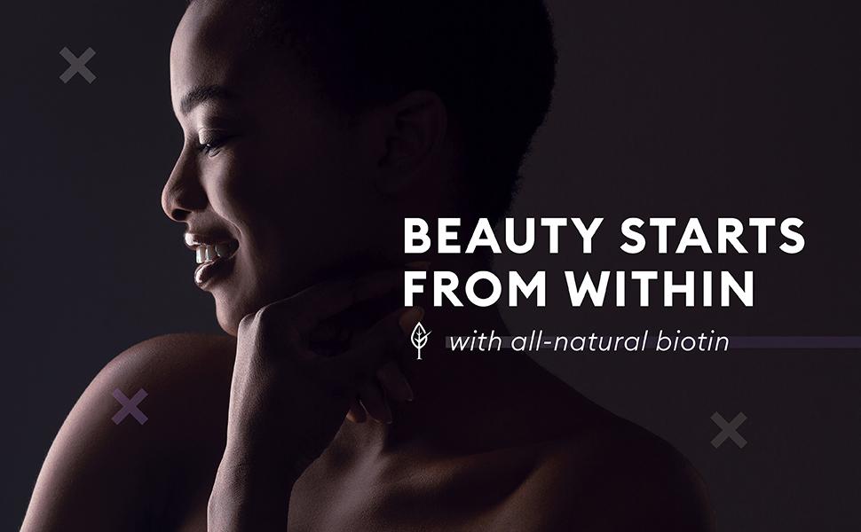 biotin all natural hair skin nails regrowth healthy
