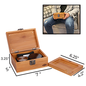 stash lock box storage box  smoking kit smell proof boxkit box stash box