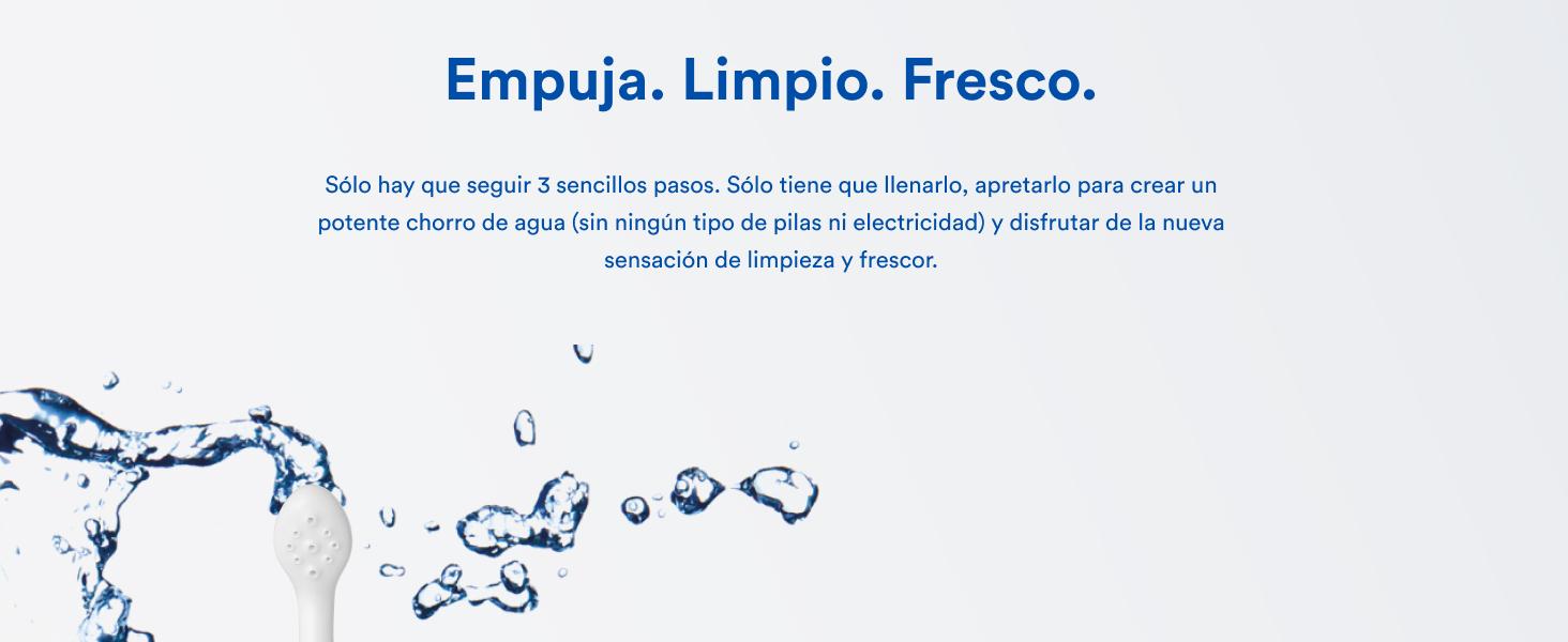 Bidé portátil original HAPPYPO en varios colores I El Easy-Bidé 2.0 sustituye toallitas húmedas y el inodoro con ducha I Bidé móvil para viajes con ...