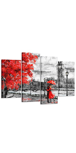 Paris Bathroom Decor large wall art for bedroom Black and white canvas wall art