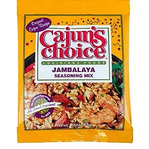 Cajun's Choice Jambalaya Seasoning Mix