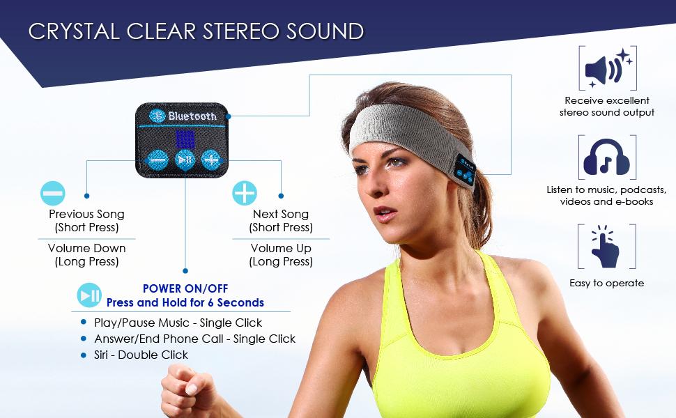 sports headphones headband