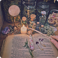 spell book herbs for witchcraft wicca supplies spiritual herbs witchcraft candles witch candle sage