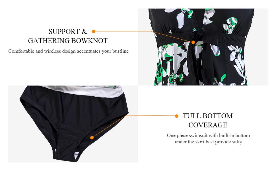 Wantdo Slimming Bathing Suits