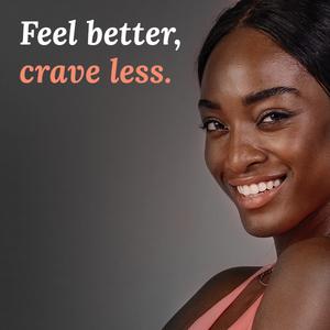 less craving, feel better