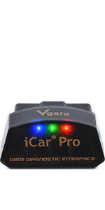 Vgate Icar Pro Bluetooth 4 0 Ble Obd2 Obdii Error Code Reader Car Check Engine Light With Elm327 Adapter Auto