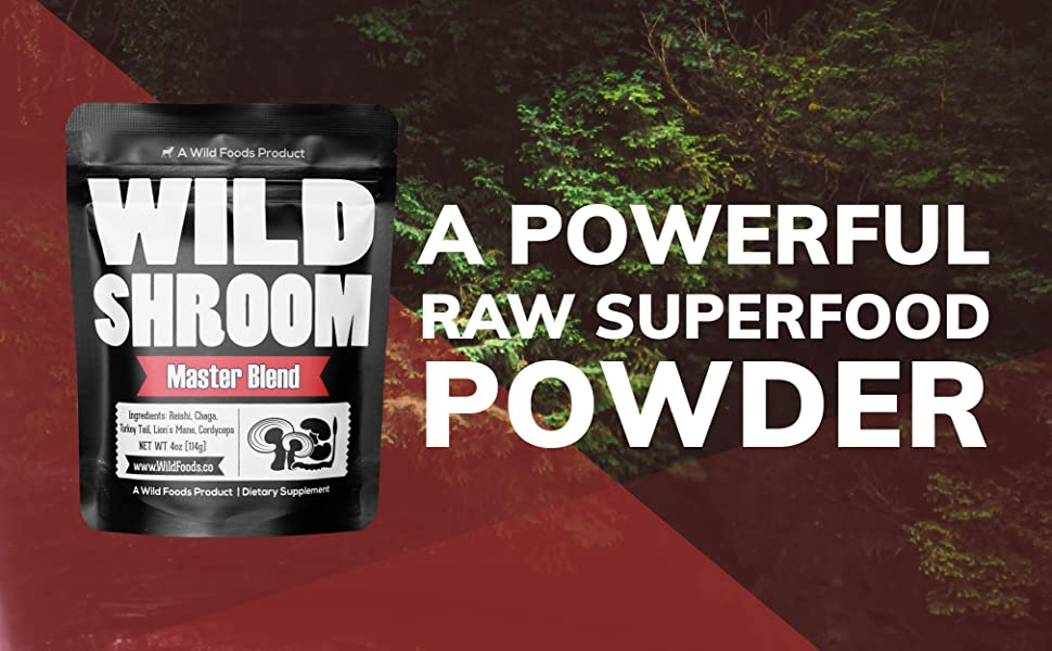 Powerful Raw Superfood Powder Nutritious Adaptogenic Herb Real Food Wild Natural Pure Healthy Good