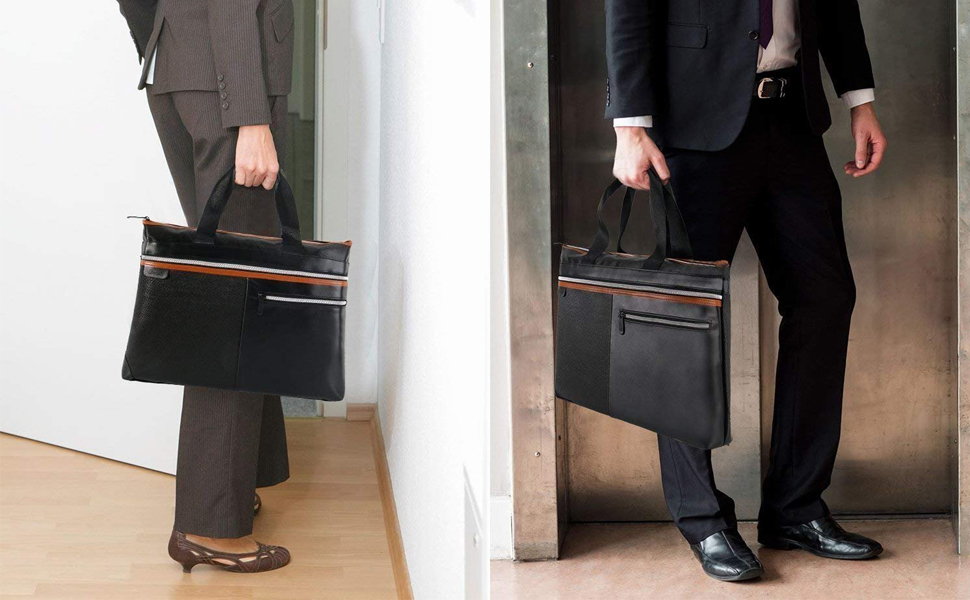 Unisex briefcase not only meets business style, but also suitable for family leisure style