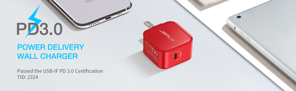 usb c pd 3.0 wall charger
