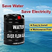 Water over Flow Tank Alarm
