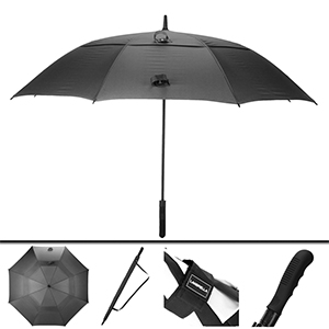 60inch 68inch 80inch black golf umbrella