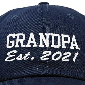 2021 established grandpa up close quality stitching