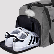 rotot gym bag with shoe pouch
