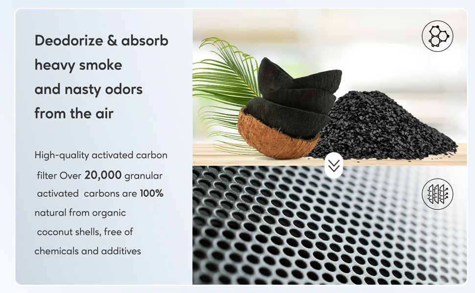 activated carbon air filter, hepa air filter, hepa air purifier