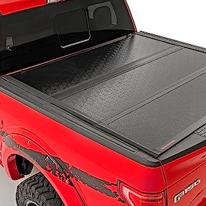 Hard Folding Flush Mount Aluminum Tonneau Cover