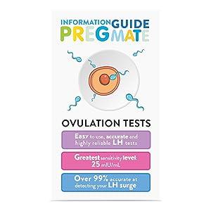 pregmate ovulation test strips lh surge opk predictor kit