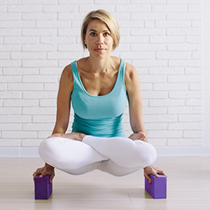 Poses you can do with overmont yoga block