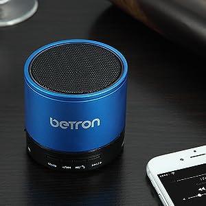 betron kbs08 blue bluetooth wireless speaker