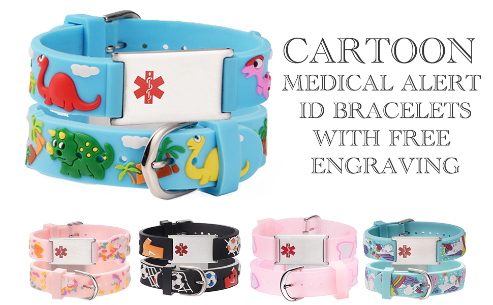 kids medical id bracelets