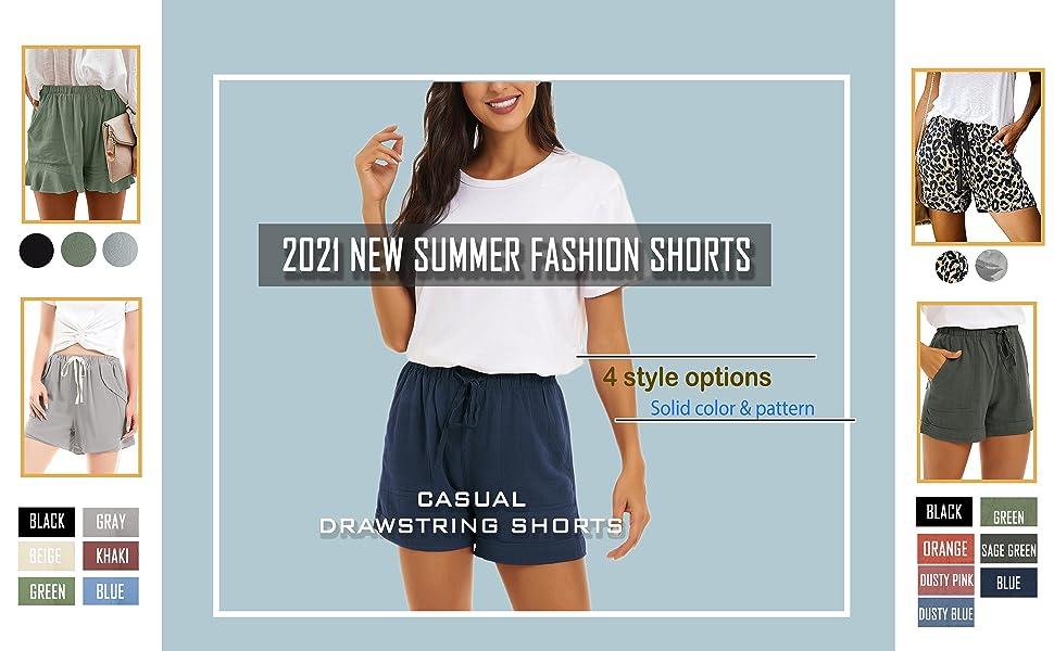 shorts for women petite line cotton short