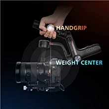 ZHIYUN WEEBILL S 3-Axis Handhled Gimbal Stabilizer for Mirrorless and DSLR Cameras