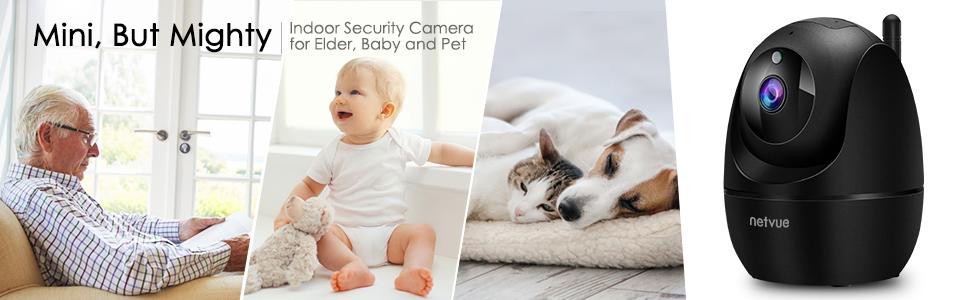 Flashandfocus.com f887bf63-093d-4b36-8628-bc0661932572.__CR0,0,970,300_PT0_SX970_V1___ Dog Camera, 1080P FHD 2.4GHz WiFi Pet Camera , Indoor Security Camera for Pet/Baby/Nanny, AI Human Detection, Night…