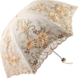 yellow lace parasol umbrella